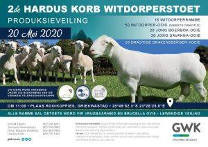 Hardus Korb  2nd Production Sale @ Griekwastad